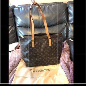 Authentic Louis Vuitton Cabas Mono